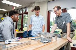 Robotics instructor who values students