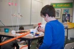 Rube Goldberg machine building