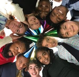 Middle School Advisory group photo