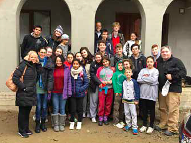 2018 Romania Trip group photo