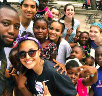 Group Photo from Haiti travel