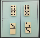 dominoes which one doesn't belong photo