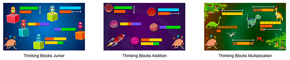 Thinking Blocks App screen capture